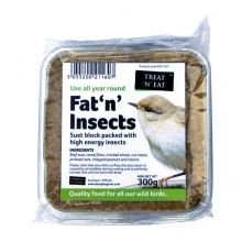 Treat 'n' Eat Fat 'n' Insects Suet Block 300g
