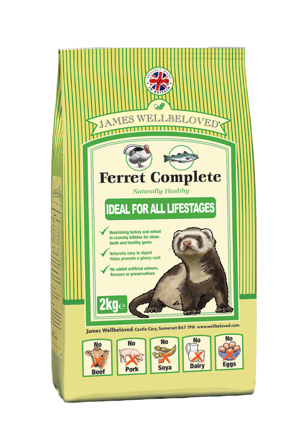 James Wellbeloved Ferret Food 10Kg