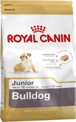 Royal Canin Bulldog Junior Complete Food 3Kg