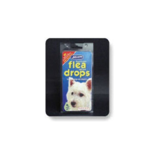 Johnsons Dog Flea Drops For Small Dogs 4 Week Pack