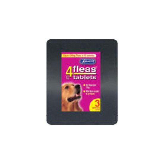 Johnsons 4fleas Flea Tablets For Large Dogs 3 Pack