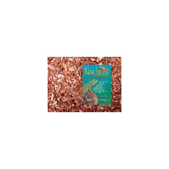 Rainforest Reptile Bark Substrate Course 10 Litre