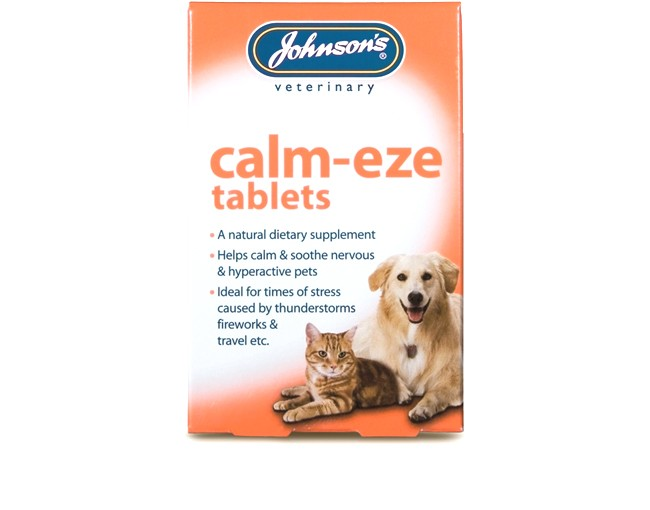 Johnsons Cat & Dog Calm-eze Tablets (36 Pack)