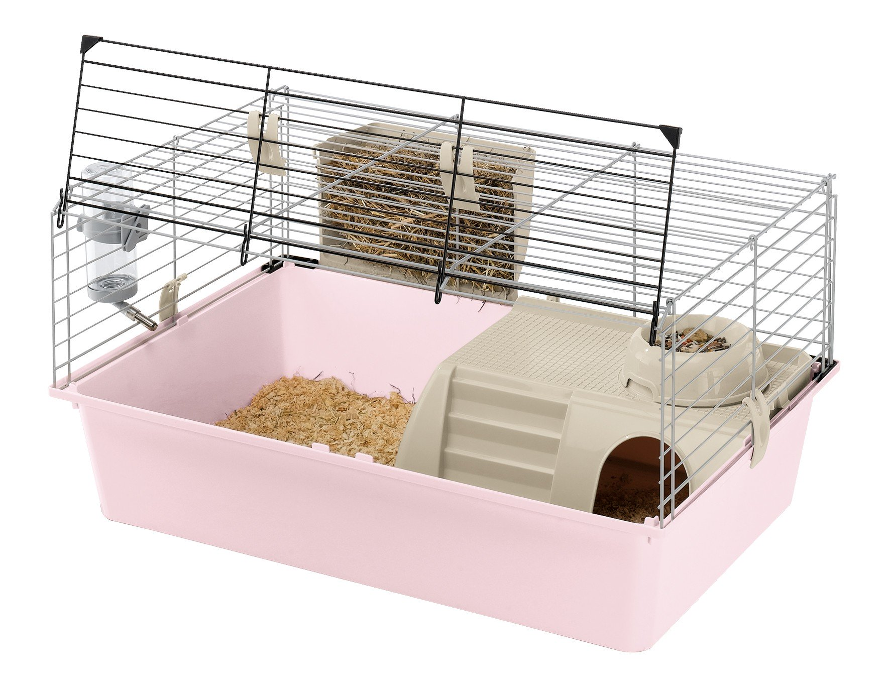 Ferplast cavie 15 guinea pig cage accessories for Guinea pig cage for 3