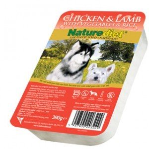 Nature Diet Chicken & Lamb (single) Hypo-allergenic