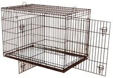 Hagen Dog It 30 Inch Dog Cage With Two Doors