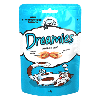 Dreamies Cat Treats with Salmon