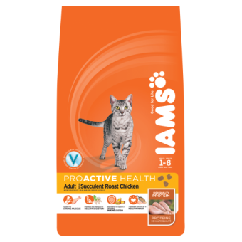 Iams Cat Food. Rich in Chicken 3Kg