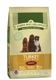 James Wellbeloved Adult Turkey 15Kg