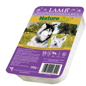 Nature Diet Lamb (single) Hypo-allergenic
