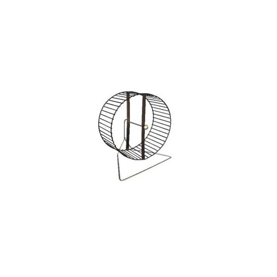 Metal Hamster Wheel On Stand