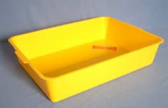 Plastic Cat Litter Tray Large