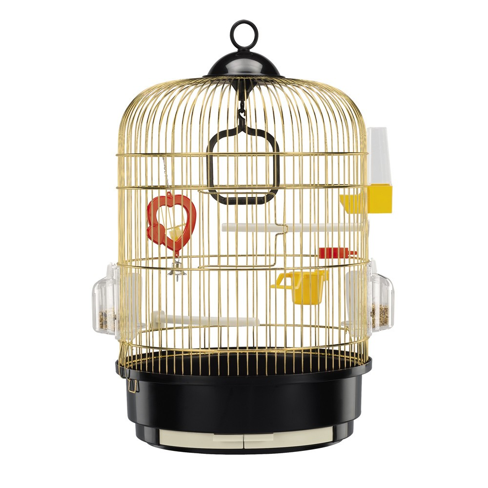 ferplast regina antique brass bird cage