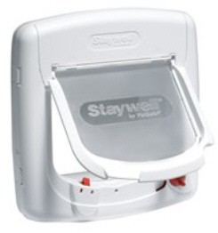 Staywell Magnetic 4 Way Locking Deluxe Cat Flap