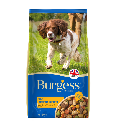 Burgess Supadog Food Chicken 2.5Kg