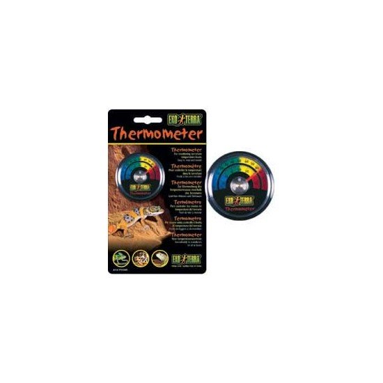 Exo Terra Dial Thermometer For Reptiles