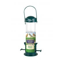 Natures Feast Seed Feeder With Twist & Lock Feature