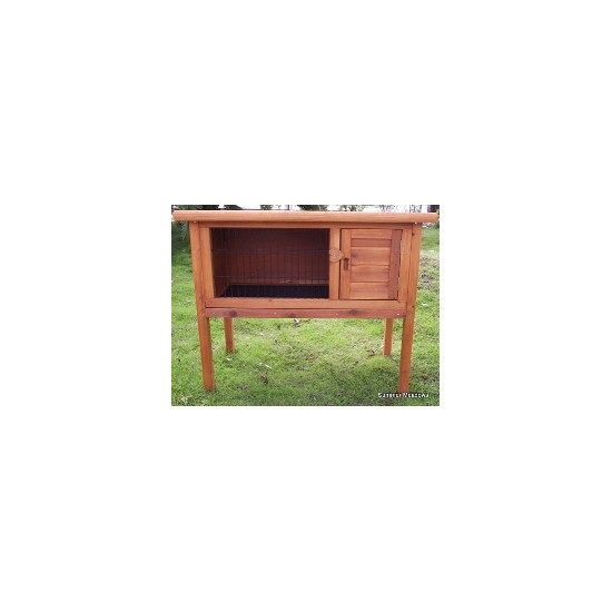 Traditional Outdoor Hutch On Legs (4FT)