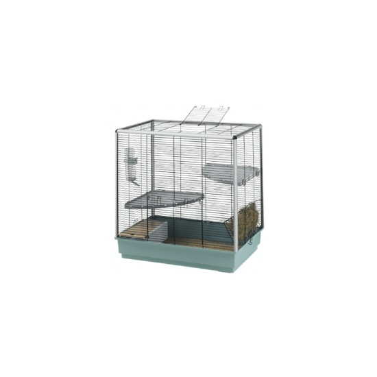 Ferplast Cincilla Knockdown Cage & Accessories