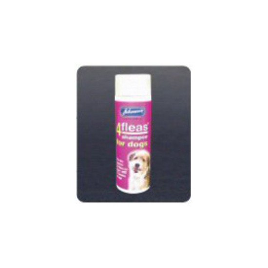 Johnsons 4Fleas Flea Shampoo For Dogs 240ml