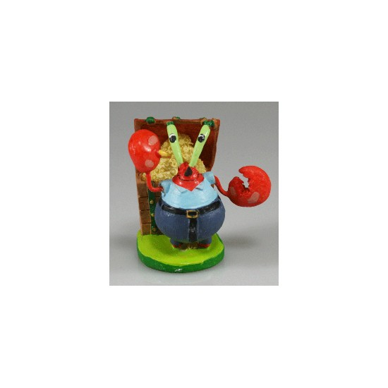 Mr Krabs Aquarium Ornament - Sponge Bob Range