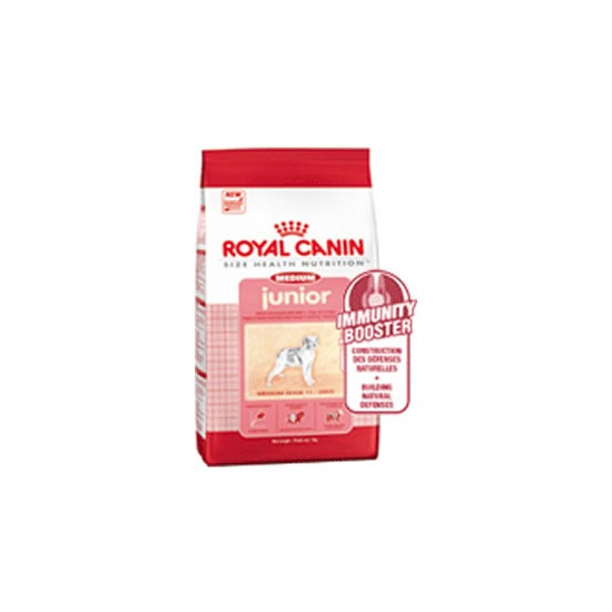 Royal Canin Medium Junior Complete Food 4Kg