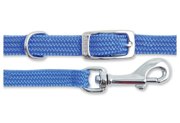 Ancol Softweave Collar & Lead Set - Blue