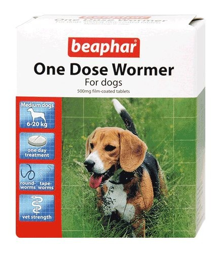 Beaphar One Dose Wormer For Dogs From 6Kg To 20Kg