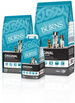 Burns Complete Dog Food Chicken & Rice 15kg