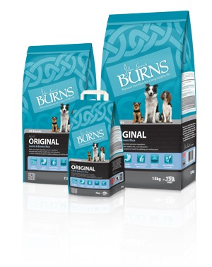 Burns Complete Dog Food - Lamb & Brown Rice 15Kg