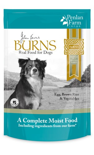 Burns Hypo-allergenic Moist Food Penlan Farm Egg, Brown Rice & Vegetables