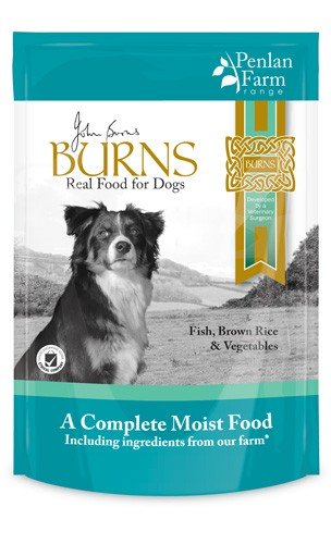 Burns Hypo-allergenic Moist Food Penlan Farm Fish, Brown Rice & Vegetables