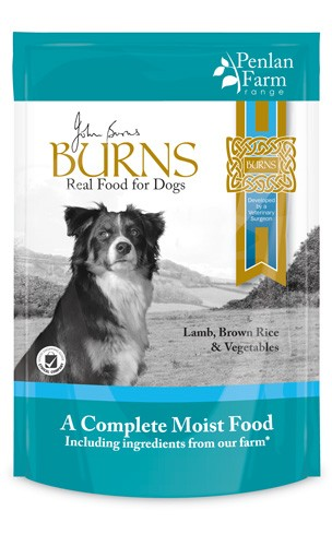 Burns Hypo-allergenic Moist Food Penlan Farm Lamb, Brown Rice & Vegetables