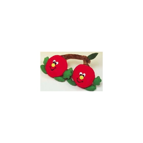 Interpet Twin Cherry Plush Dog Toy