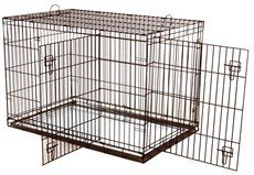 Hagen Dog It 24 Inch Dog Cage With Two Doors