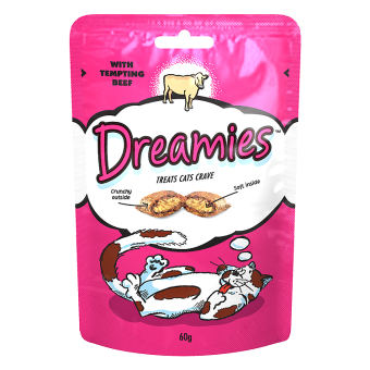 Dreamies Cat Treats with Beef