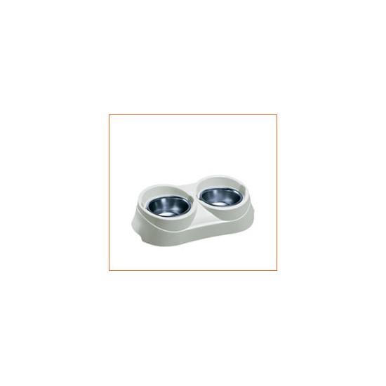 Ferplast Duo Feed 01 Dog Feeding Bowls