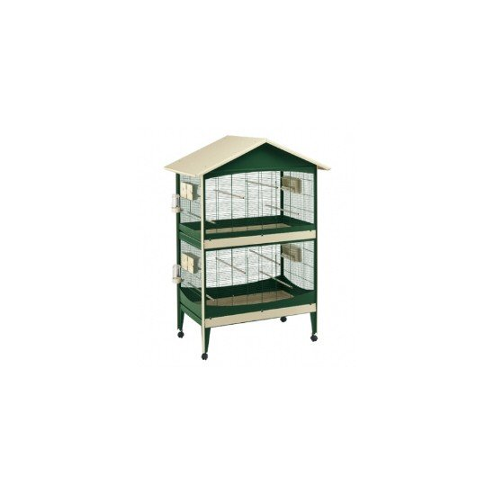 Ferplast Duetto Bird Aviary With Divider