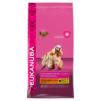 Eukanuba Weight Control Medium Breed 12KG