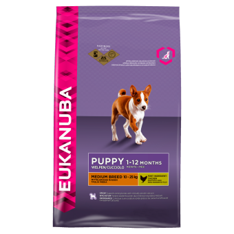 Eukanuba Puppy & Junior Medium Breed 12KG