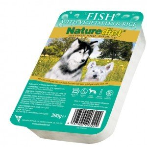 Nature Diet Fish (single) Hypo-allergenic