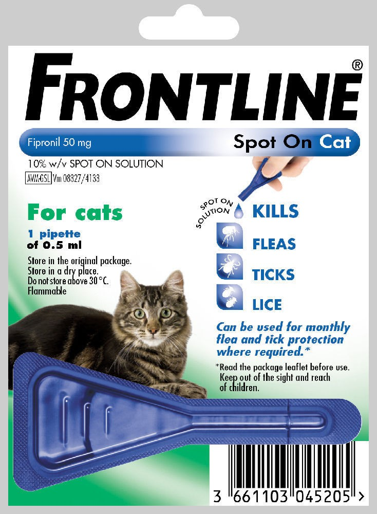 frontline cat spot on 1 pack