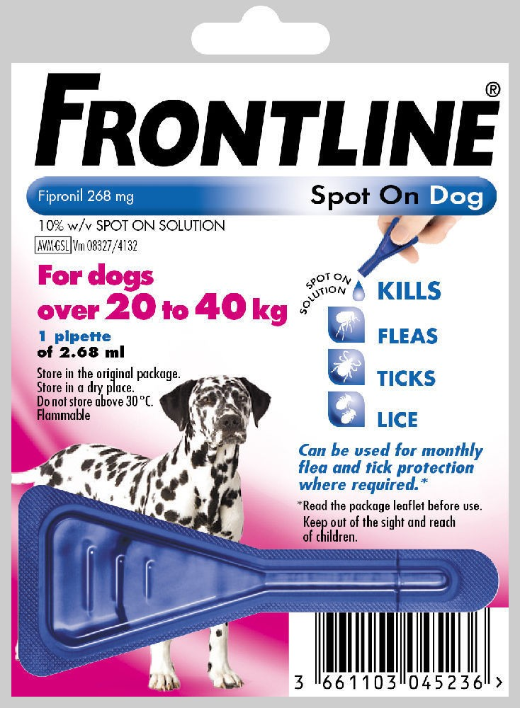 Frontline Spot On Large Dog 1 pack Flea Treatment