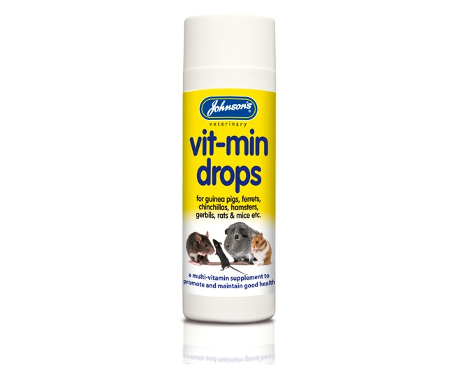 Johnsons Vitamin Drops For Hamsters and Gerbils