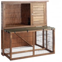 Home Sweet Home Hutch 'N' Run Super Double Extendable Hutch