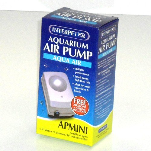 Interpet Air Pump Mini with Airline & Airstone