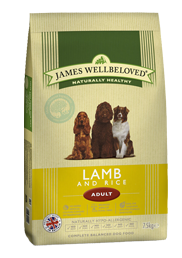 James Wellbeloved Adult Lamb 15Kg
