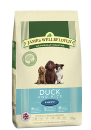 James Wellbeloved Puppy Duck & Rice 2Kg