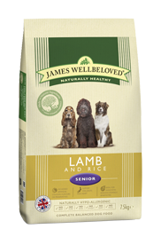 James Wellbeloved Senior Lamb & Rice 2Kg