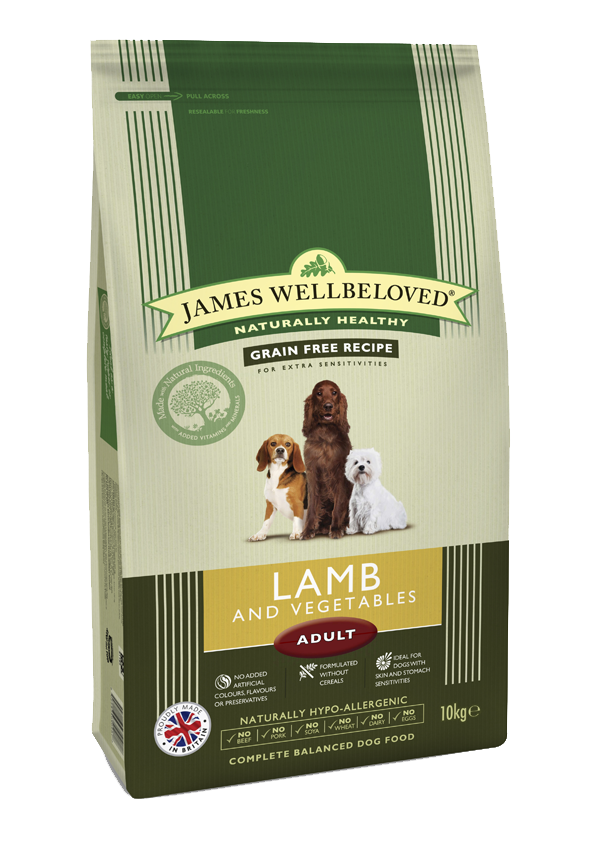 James Wellbeloved Lamb & Veg